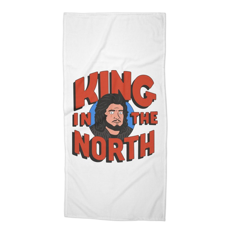 King in the North Accessories Beach Towel by Cody Weiler