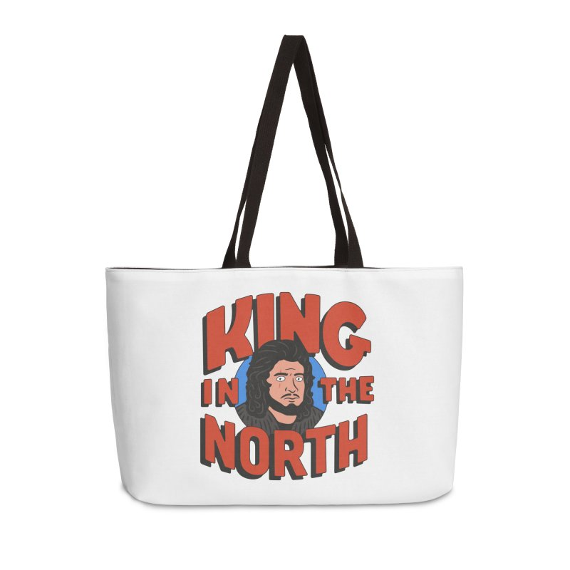 King in the North Accessories Weekender Bag Bag by Cody Weiler