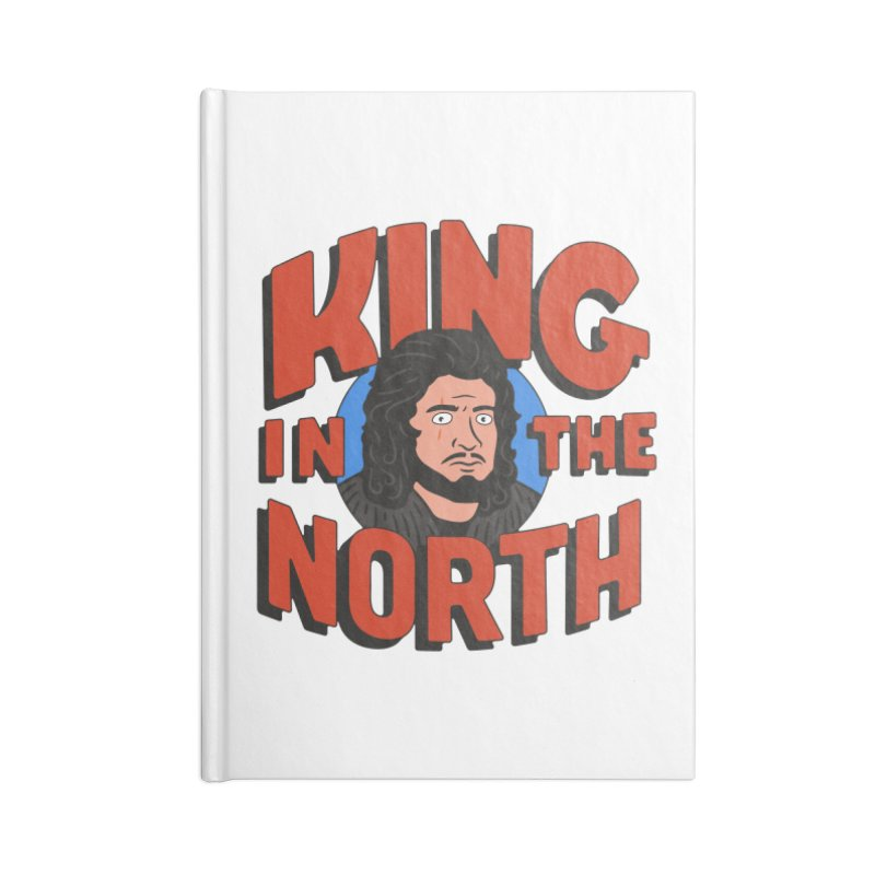 King in the North Accessories Blank Journal Notebook by Cody Weiler