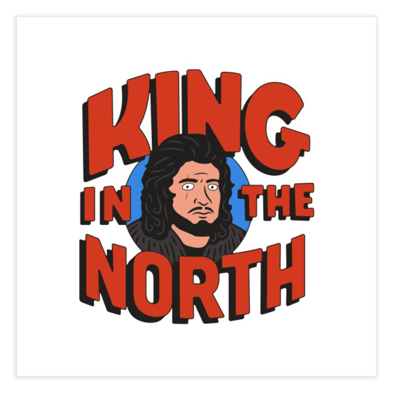 King in the North Home Fine Art Print by Cody Weiler