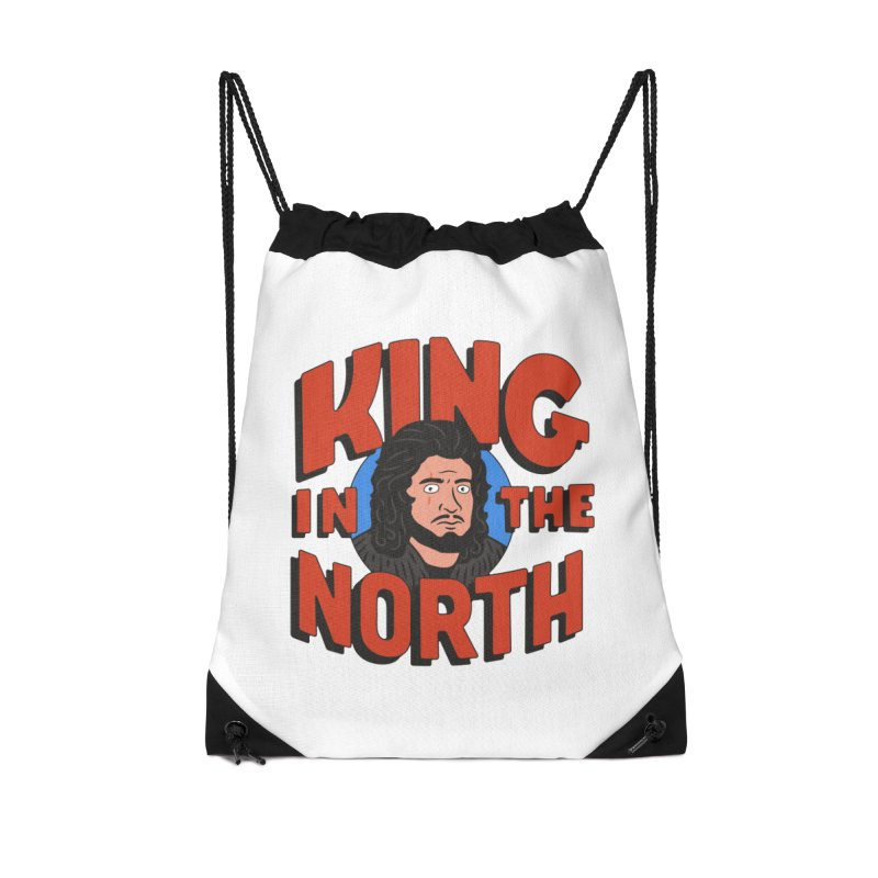 King in the North Accessories Bag by Cody Weiler