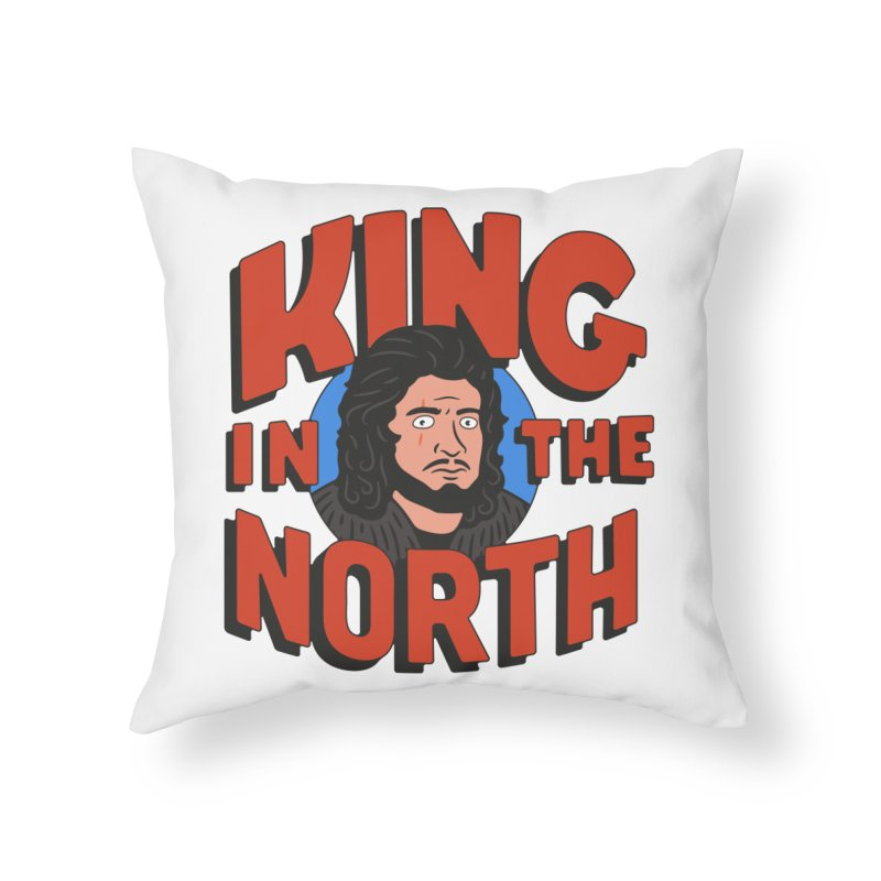 King in the North Home Throw Pillow by Cody Weiler
