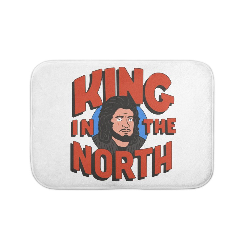 King in the North Home Bath Mat by Cody Weiler