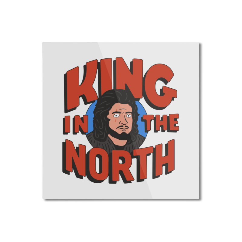 King in the North Home Mounted Aluminum Print by Cody Weiler