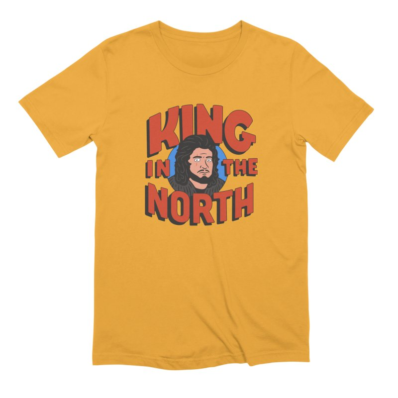 King in the North Men's Extra Soft T-Shirt by Cody Weiler