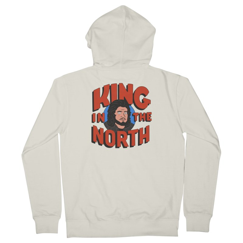King in the North Women's Zip-Up Hoody by Cody Weiler