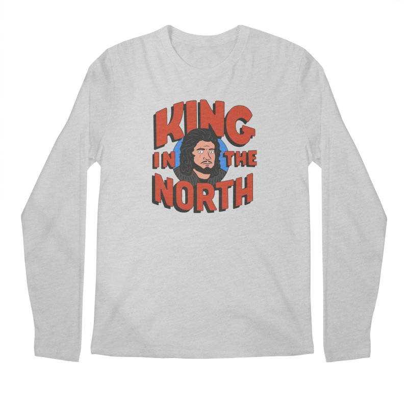 King in the North Men's Regular Longsleeve T-Shirt by Cody Weiler