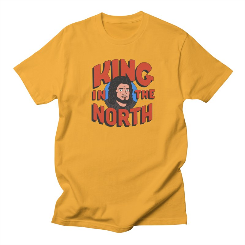 King in the North Men's Regular T-Shirt by Cody Weiler