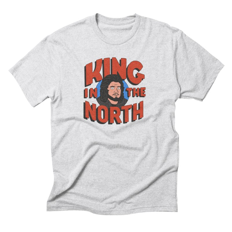 King in the North Men's Triblend T-Shirt by Cody Weiler