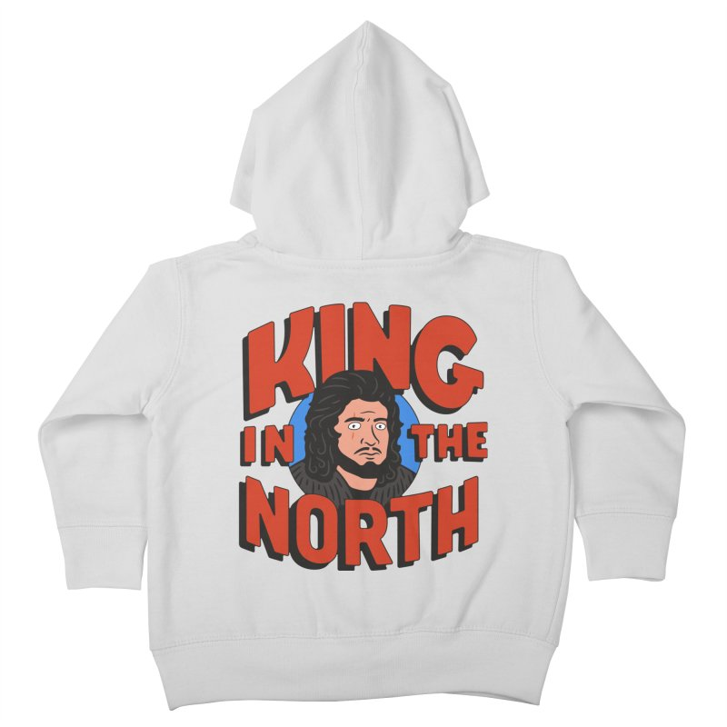 King in the North Kids Toddler Zip-Up Hoody by Cody Weiler