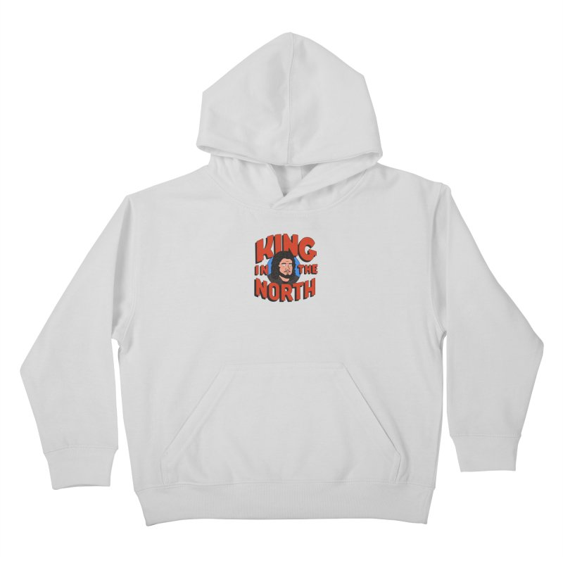 King in the North Kids Pullover Hoody by Cody Weiler
