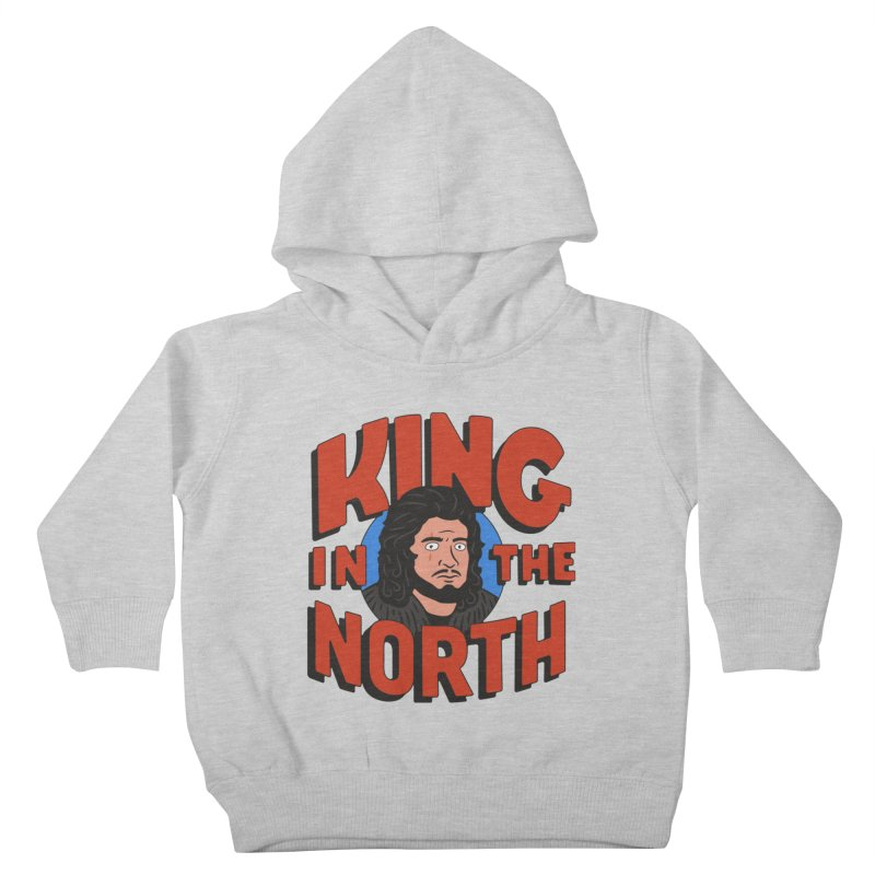 King in the North Kids Toddler Pullover Hoody by Cody Weiler