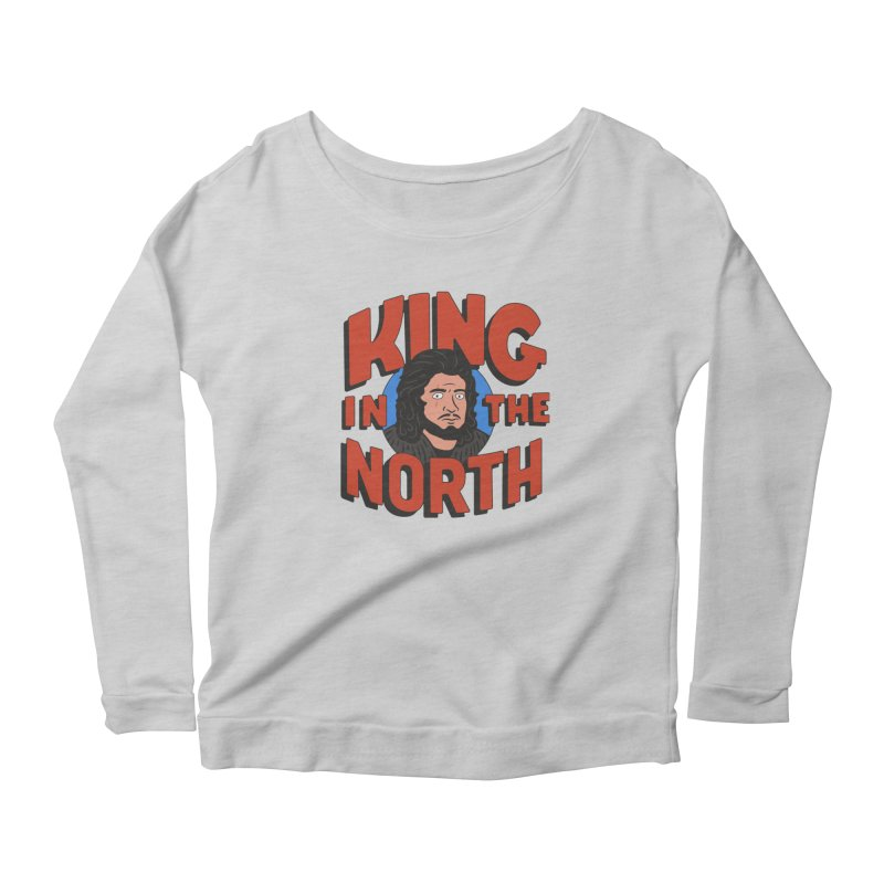 King in the North Women's Longsleeve T-Shirt by Cody Weiler