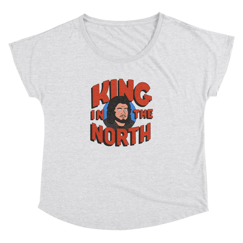 King in the North Women's Dolman Scoop Neck by Cody Weiler