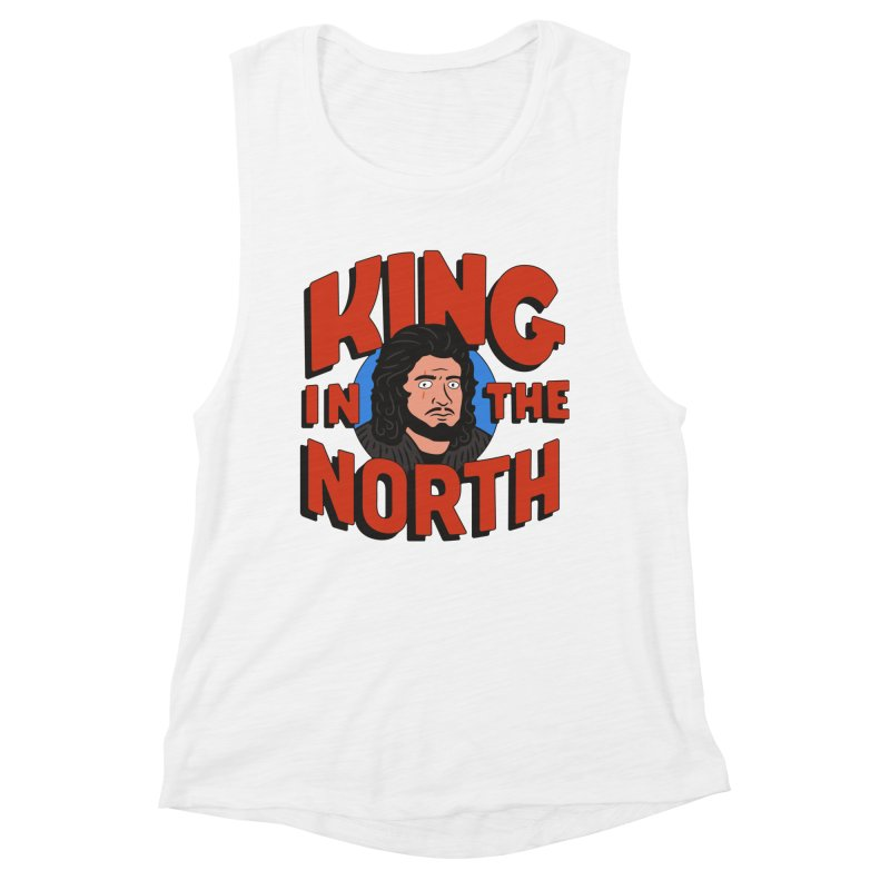 King in the North Women's Muscle Tank by Cody Weiler
