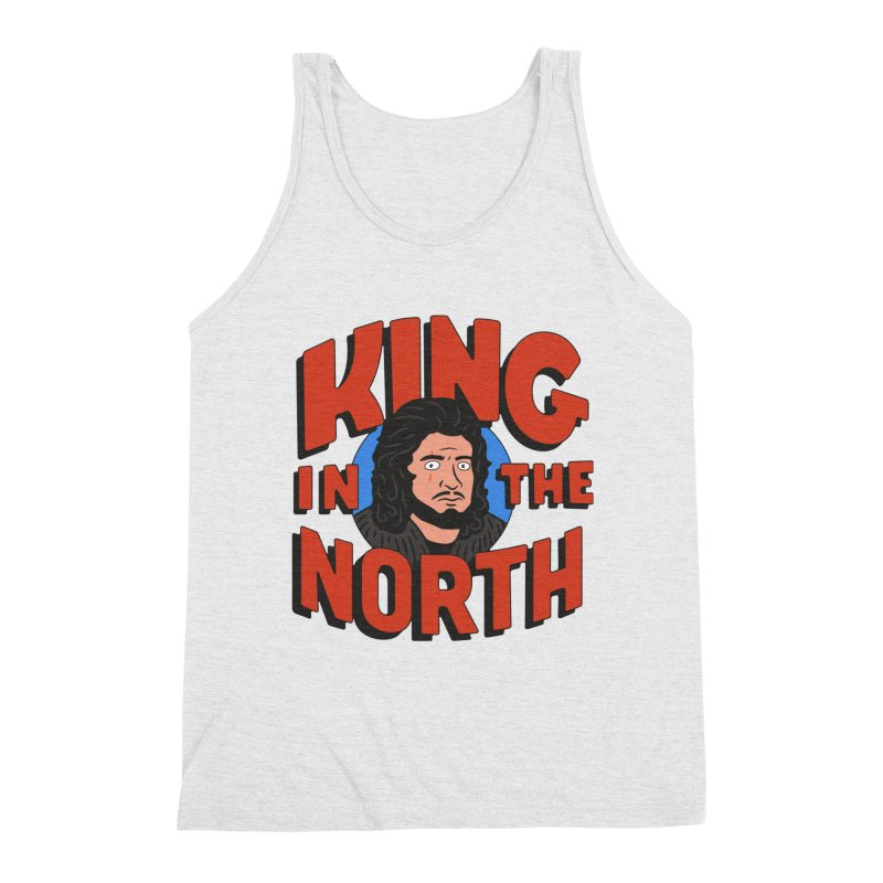 King in the North Men's Triblend Tank by Cody Weiler