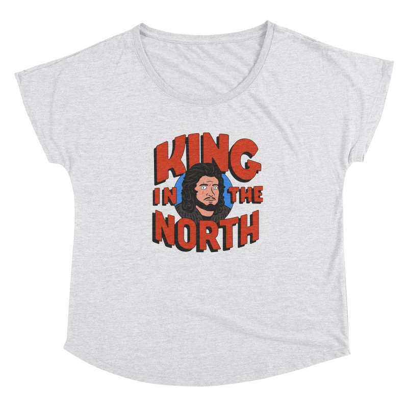 King in the North Women's Scoop Neck by Cody Weiler