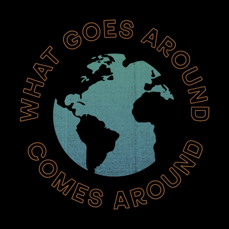 What Goes Around Kids Longsleeve T-Shirt by Cody Weiler