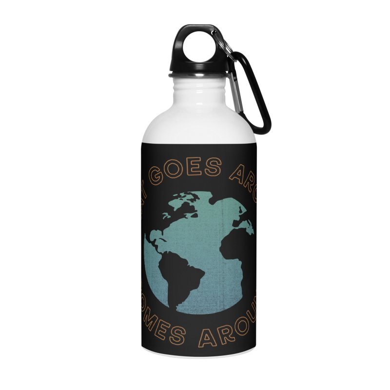 What Goes Around Accessories Water Bottle by Cody Weiler