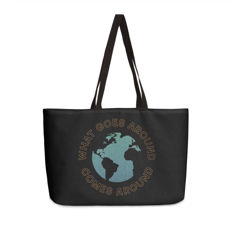 What Goes Around Accessories Weekender Bag Bag by Cody Weiler
