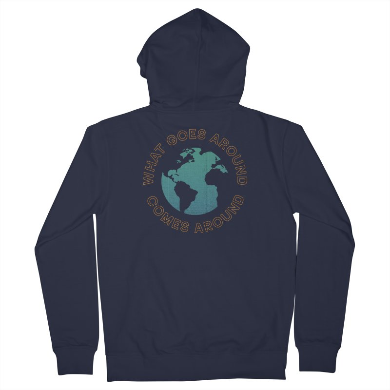 What Goes Around Women's French Terry Zip-Up Hoody by Cody Weiler