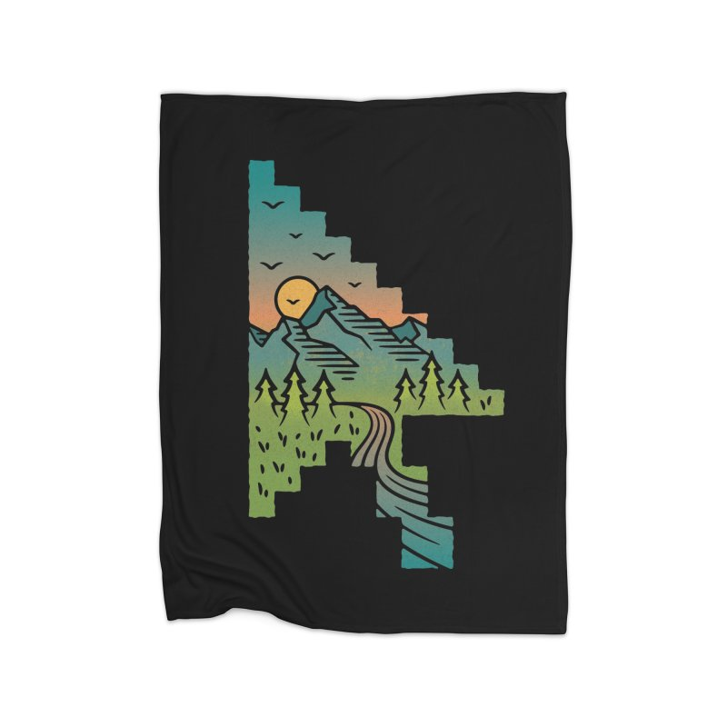 Point of View Home Fleece Blanket Blanket by Cody Weiler