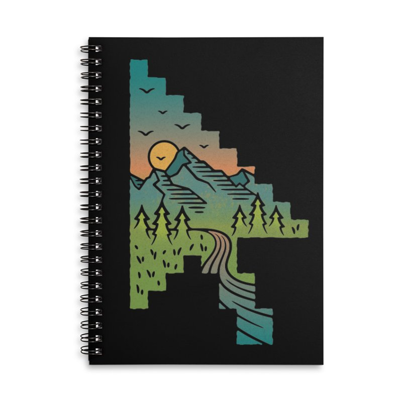 Point of View Accessories Lined Spiral Notebook by Cody Weiler