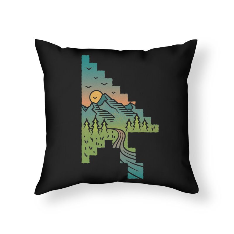 Point of View Home Throw Pillow by Cody Weiler