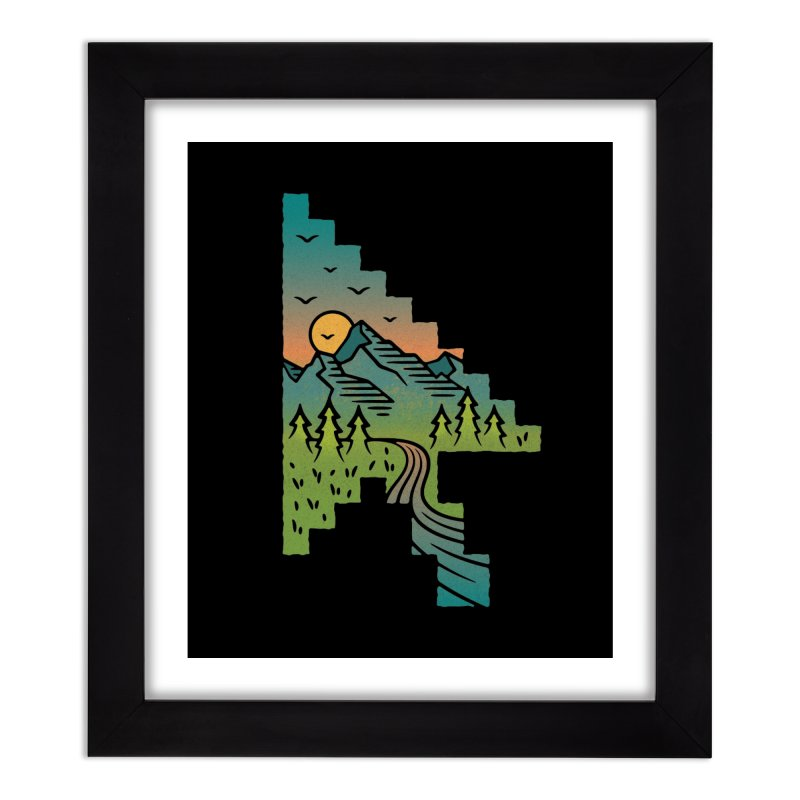 Point of View Home Framed Fine Art Print by Cody Weiler