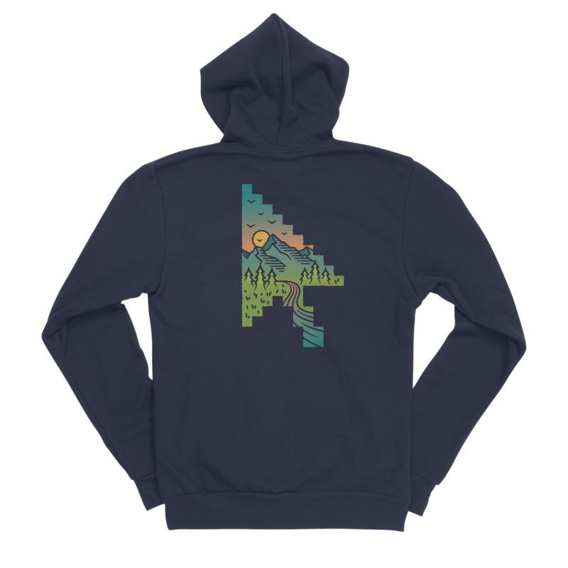 Point of View Women's Zip-Up Hoody by Cody Weiler