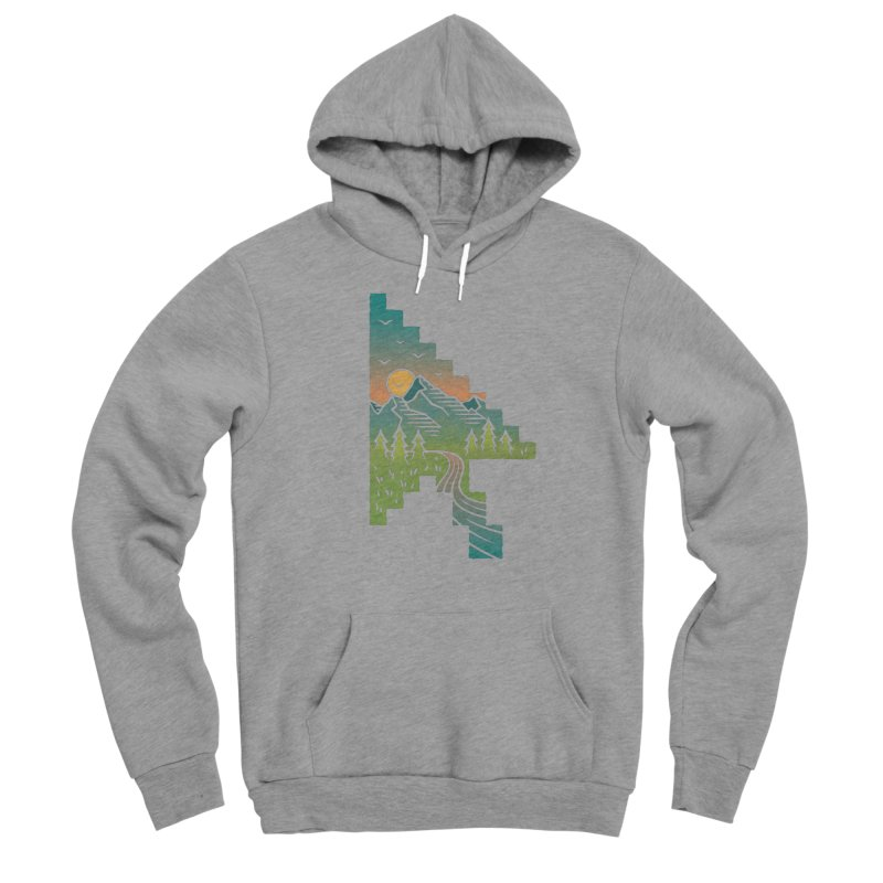 Point of View Men's Pullover Hoody by Cody Weiler
