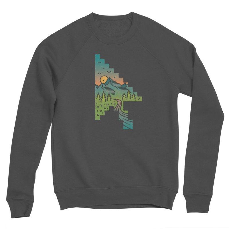 Point of View Women's Sponge Fleece Sweatshirt by Cody Weiler