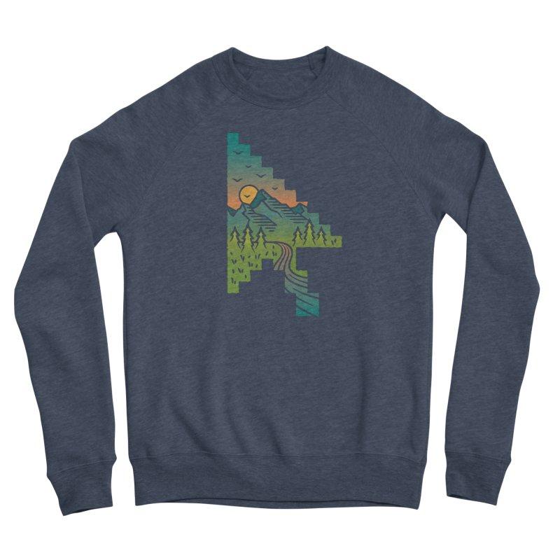 Point of View Men's Sponge Fleece Sweatshirt by Cody Weiler