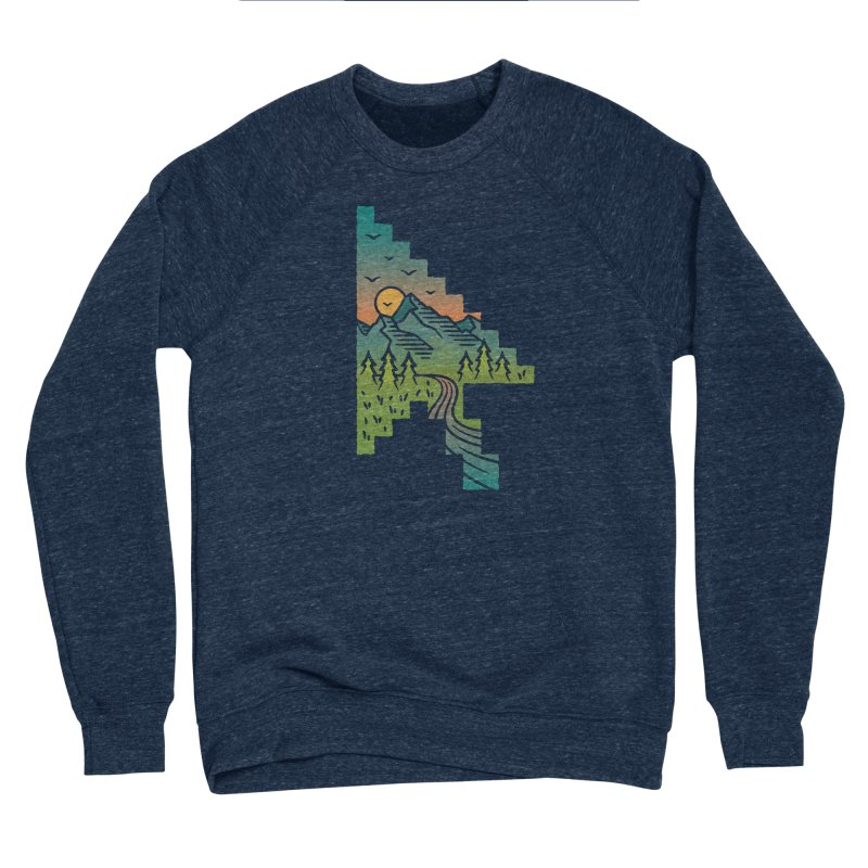 Point of View Women's Sponge Fleece Sweatshirt by Cody Weiler