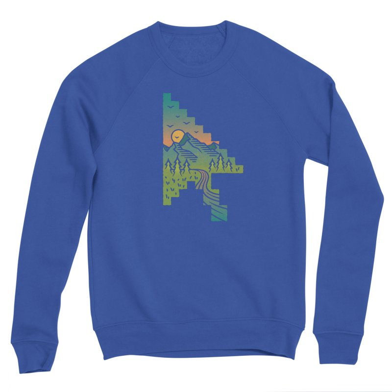 Point of View Men's Sponge Fleece Sweatshirt by Cody Weiler