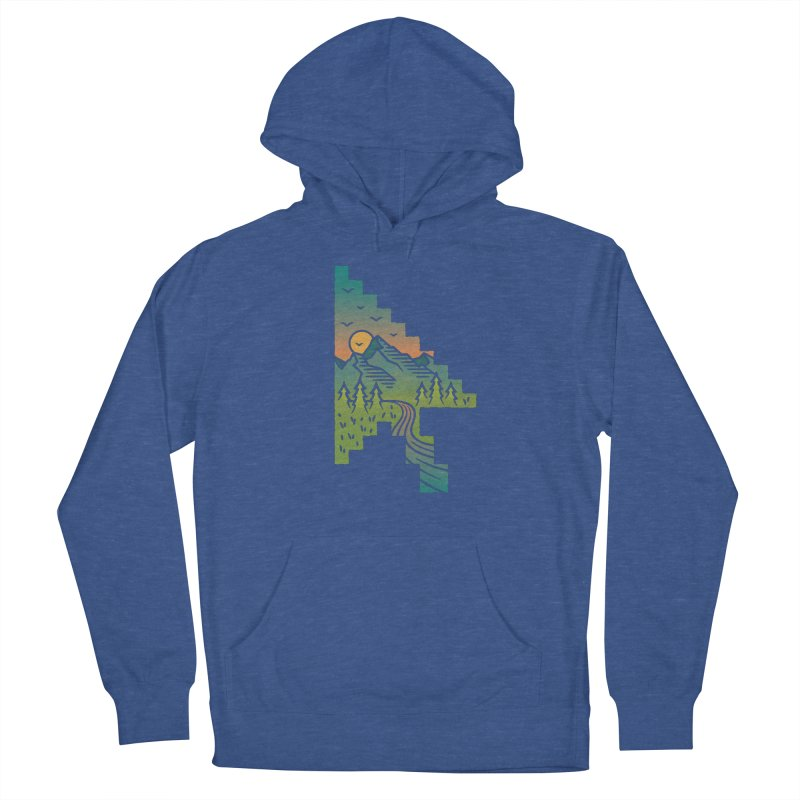 Point of View Women's French Terry Pullover Hoody by Cody Weiler