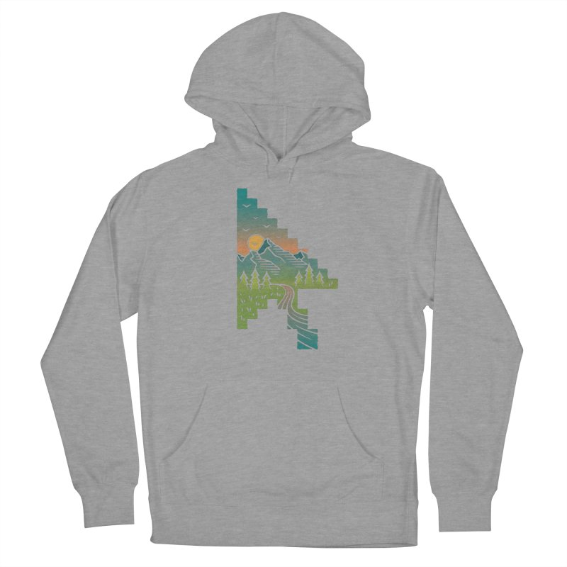 Point of View Men's French Terry Pullover Hoody by Cody Weiler