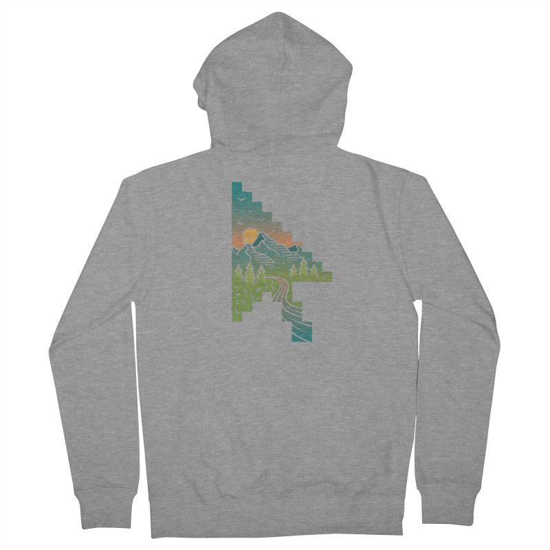 Point of View Women's French Terry Zip-Up Hoody by Cody Weiler