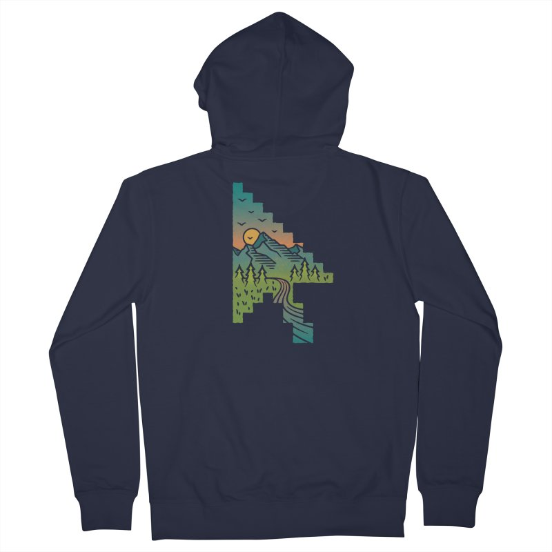 Point of View Men's French Terry Zip-Up Hoody by Cody Weiler