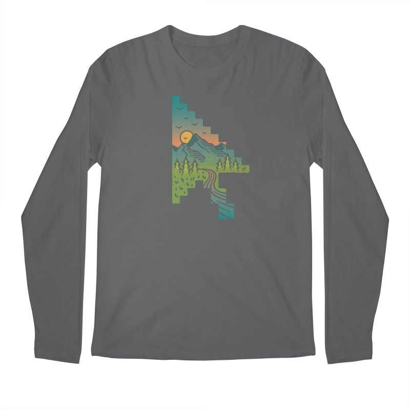 Point of View Men's Longsleeve T-Shirt by Cody Weiler