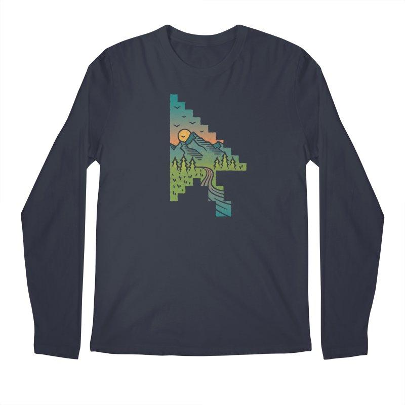 Point of View Men's Regular Longsleeve T-Shirt by Cody Weiler