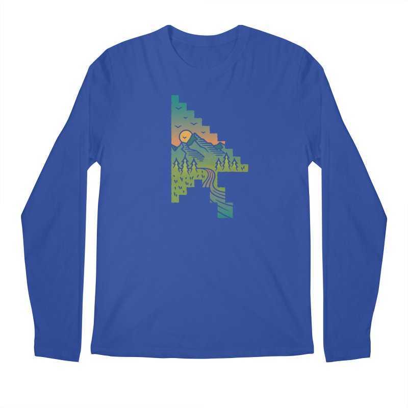 Point of View Men's Regular Longsleeve T-Shirt by Cody Weiler