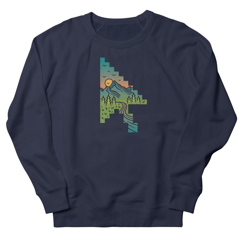 Point of View Women's French Terry Sweatshirt by Cody Weiler