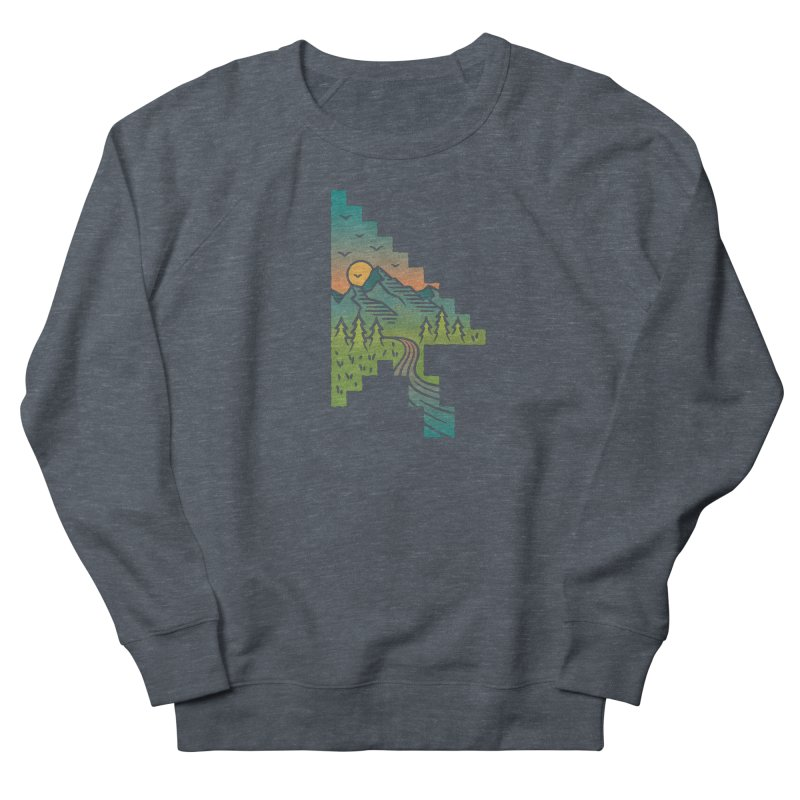 Point of View Men's French Terry Sweatshirt by Cody Weiler