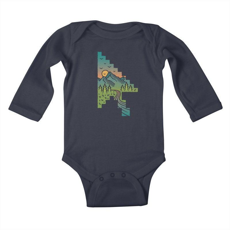 Point of View Kids Baby Longsleeve Bodysuit by Cody Weiler