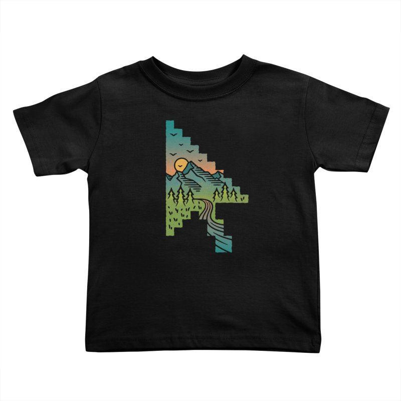 Point of View Kids Toddler T-Shirt by Cody Weiler