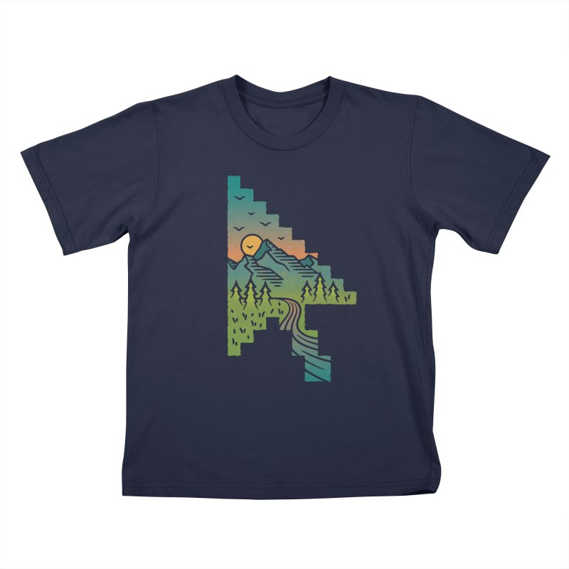 Point of View Kids T-Shirt by Cody Weiler