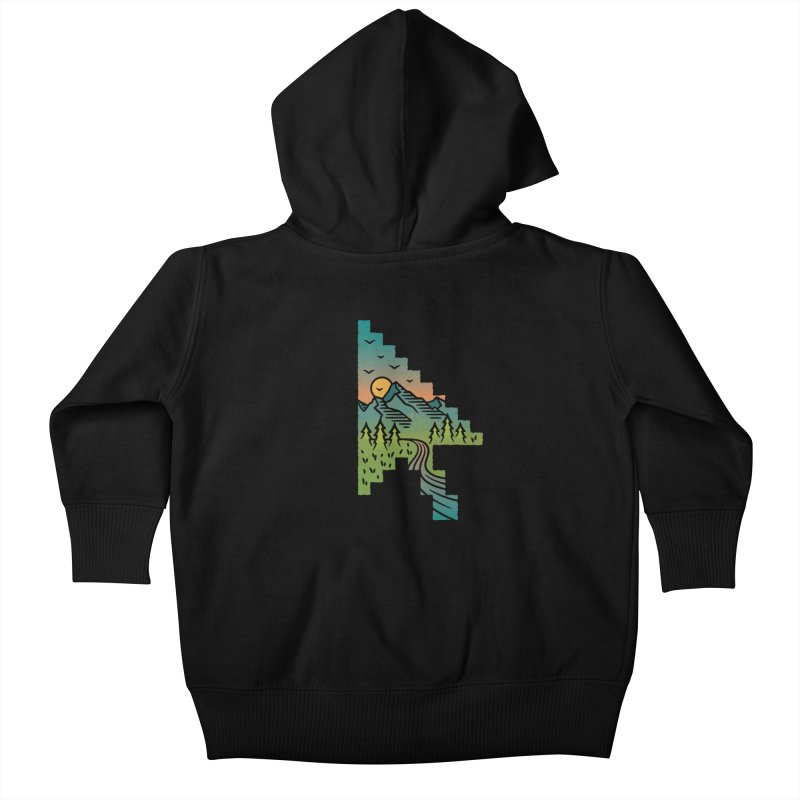 Point of View Kids Baby Zip-Up Hoody by Cody Weiler