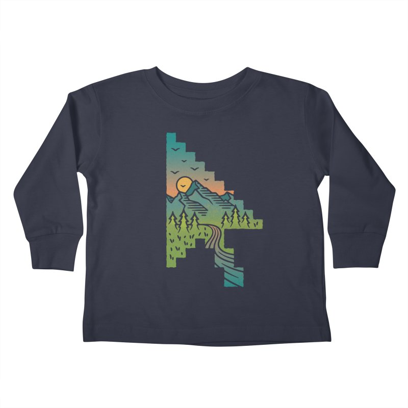 Point of View Kids Toddler Longsleeve T-Shirt by Cody Weiler