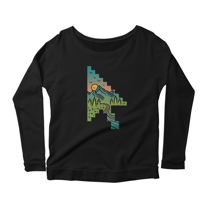 Point of View Women's Scoop Neck Longsleeve T-Shirt by Cody Weiler